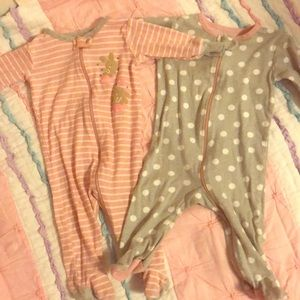3-6 month jammies